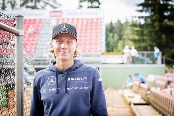 Emil Ruusuvuori pelasi heinäkuussa Tampere Openissa.