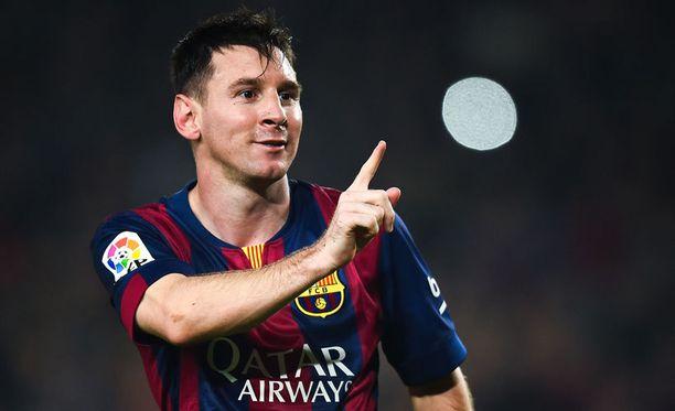 Leo Messi on tehnyt tällä kaudella La Ligassa 10 maalia.