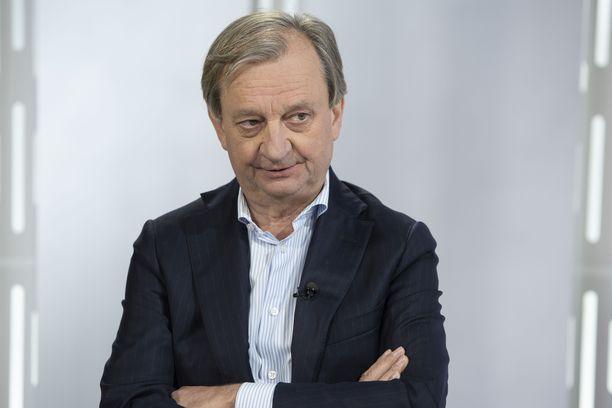 Hjallis Harkimo on tällä hetkellä Liike Nytin ainoa kansanedustaja.