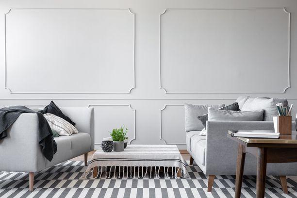 Samanlaiset huonekalut näyttävät tylsiltä yhdessä.