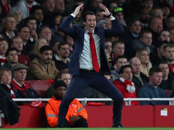 Ensimmäistä kauttaan Arsenalin managerina toimiva Unai Emery elää tunteella mukana omiensa otteluissa. Torstaina Emeryllä on edessä tunteikas paluu entiselle työpaikalleen.