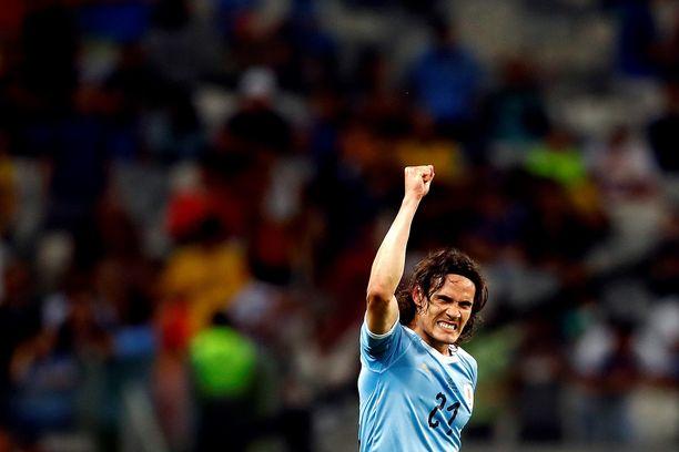 Uruguay on mättänyt maaleja viime peleissä Edinson Cavanin johdolla.