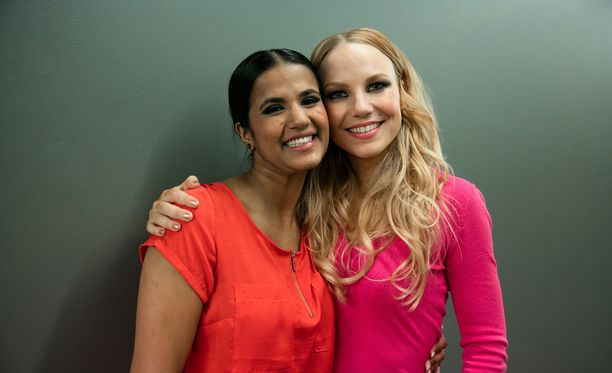 Tika Liljegren ja Hanna-Maaria Tuomela olivat vastakkain X Factor Suomi -finaalissa.