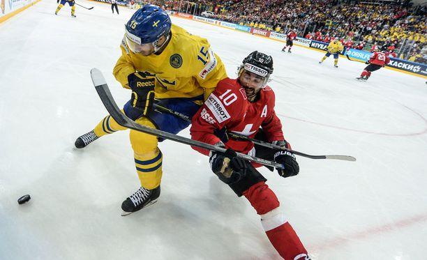 Ruotsi ja Sveitsi selvittelivät paremmuuttaan pidemmän kaavan kautta.