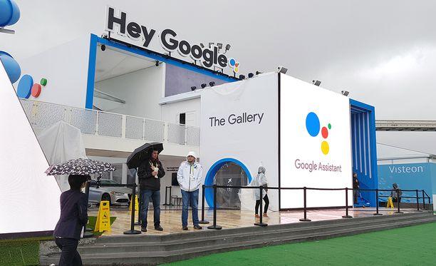 Google joutui sulkemaan osastonsa päiväksi rankkasateen vuoksi.