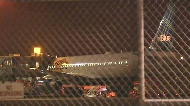 JetBluen kone teki hätälaskun Oklahoma Cityyn kahdelta aamuyöllä keskiviikkona.