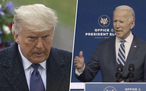Trumpin hallinto kielsi valtionjohtajien onnitteluviestien välittämisen Bidenille