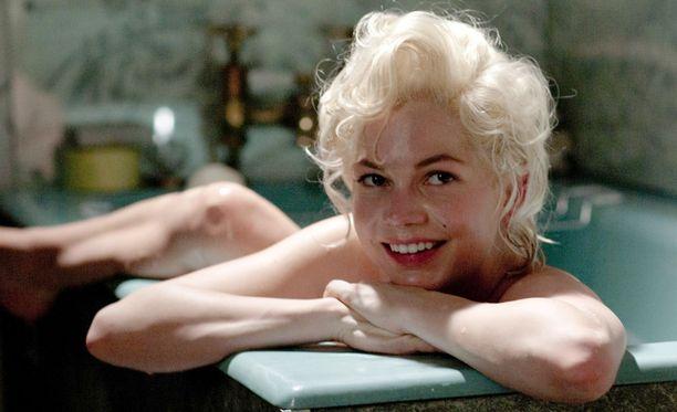 Marilyn Monroeta esittää elokuvassa Michelle Williams.