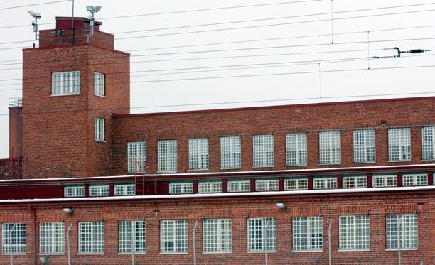 Pelastuslaitos hälytettiin sammuttamaan paloa Jokelan vankilaan.
