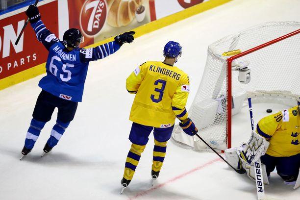Suomi kohtaa olympialaissa Ruotsin.