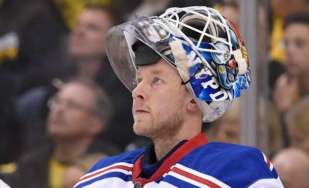 Antti Raanta on pelannut NHL:ssä kaudesta 2013-2014 lähtien.