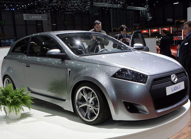 Viime syksynä Lada esitteli Pariisin autonäyttelyssä tulevaisuuttaan C-konseptimallilla.