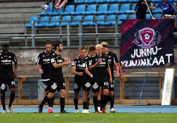FC Lahti juhlii tänä vuonna 25 vuotista taivaltaan.