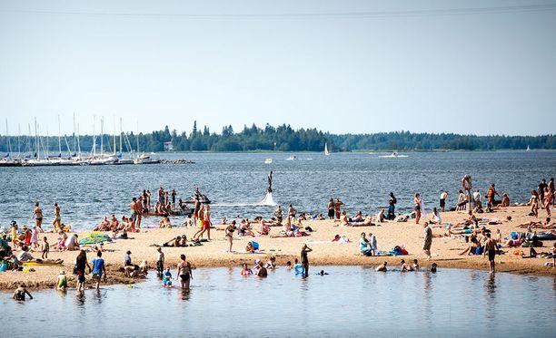 Helteistä päästään nauttimaan tänään todennäköisesti ainakin Kaakkois-Suomessa.