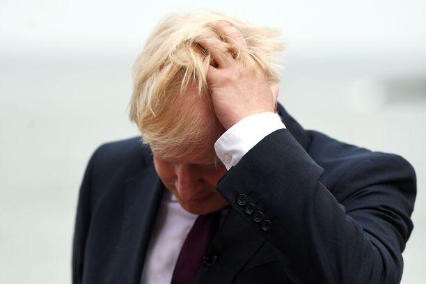 Pääministeri Boris Johnson on viime päivinä kokenut monia takaiskuja.
