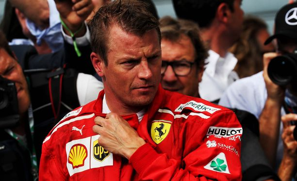 Kimi Räikkönen ei ollut Sergio Marchionnen suosiossa.