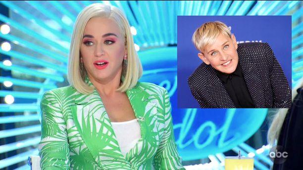 Katy Perry kertoi omaavansa vain positiivisia kokemuksia Ellen DeGenerisistä.