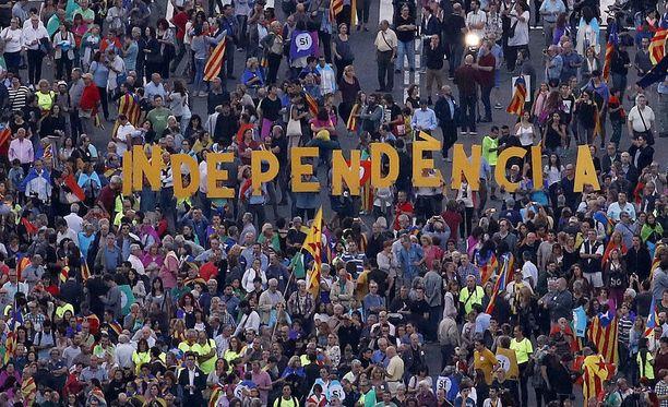 Katalonian itsenäisyyden kannatus kasvaa jokaisen uuden sukupolven myötä.
