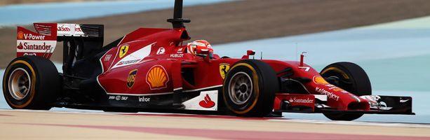 Kimi ajoi aamutuimaan vain kierroksen Bahrainissa.