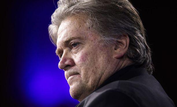 Steve Bannon toimi presidentti Donald Trumpin neuvonantajana ja päästrategina seitsemän kuukauden ajan.