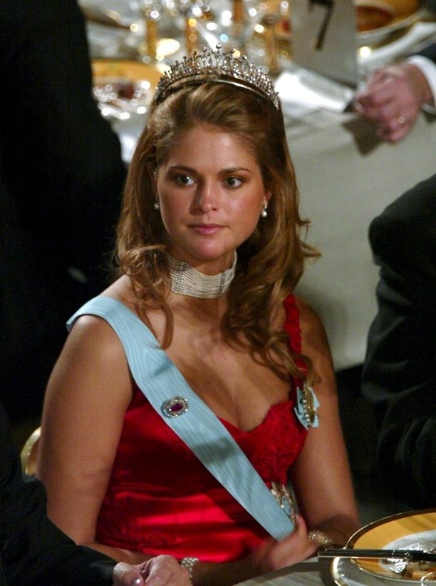 Madeleine punaisissaan vuonna 2002.