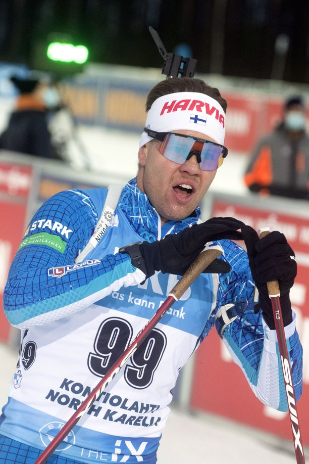 Jaakko Ranta oli sunnuntaina Suomen paras ammunnassa.