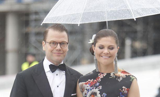 Sade ei synkistänyt prinssi Danielia ja kruununprinsessa Victoriaa.