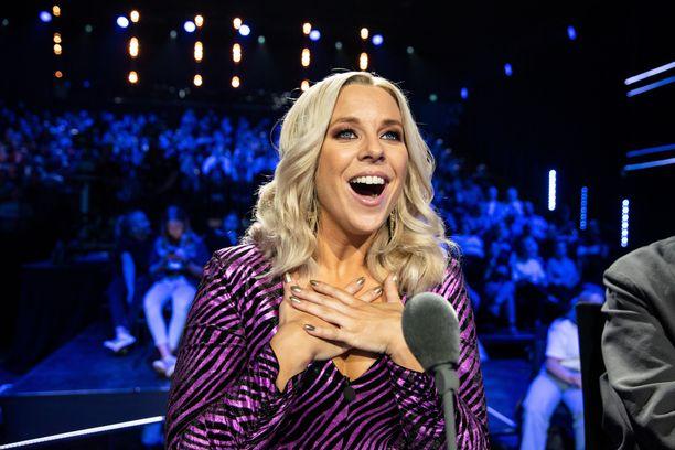 Krista Siegfrids nähdään jo toista kertaa Talent Suomen tuomaristossa.