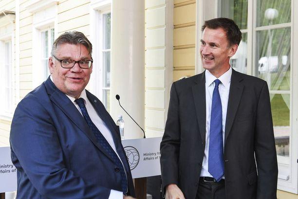 Ulkoministerit keskustelivat muun muassa hermomyrkkyiskuista.