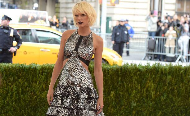 Taylor Swift oli viime vuonna maailman eniten tienannut muusikko.