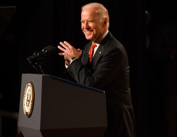 Joe Biden varapresidenttiaikanaan vuonna 2015.