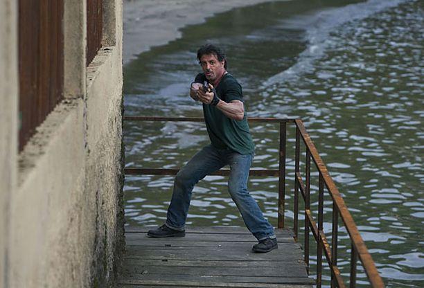 Stallone on käsikirjoittanut ja ohjannut The Expendables-leffan.