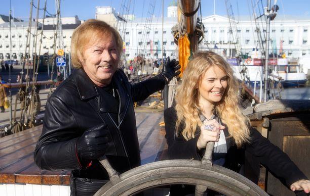 Erika Vikman ja Danny ovat seurustelleet vuodesta 2016.