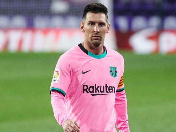 Lionel Messi rikkoi Pelen maaliennätyksen viime tiistaina Valladolidia vastaan.