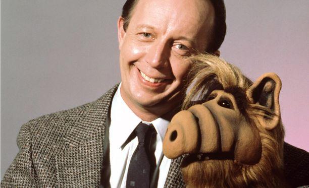 Max Wright ja Alf olivat Alf-sarjan päätähtiä.