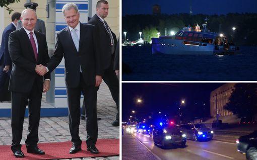 Putinin Suomen-vierailu on ohi: Iljushin-kone lähti liikkeelle Helsinki-Vantaalta – IL seurasi hetki hetkeltä