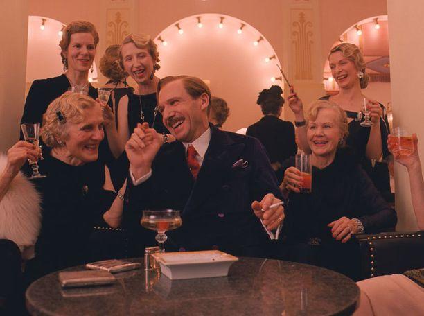 Wes Andersonin The Grand Budapest Hotel on ehdolla yhdeksän Oscarin saajaksi.