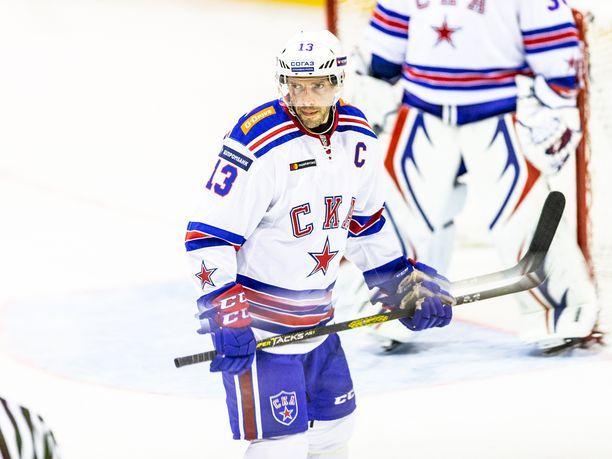 Pavel Datsjukin kipparoima Pietarin SKA kohtaa lauantaina vieraskaukalossa Lokomotiv Jaroslavlin.
