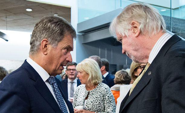 Presidentti Sauli Niinistö sai entiseltä ulkoministeriltä, kansanedustaja Erkki Tuomiojalta (sd) kehuja puheestaan.