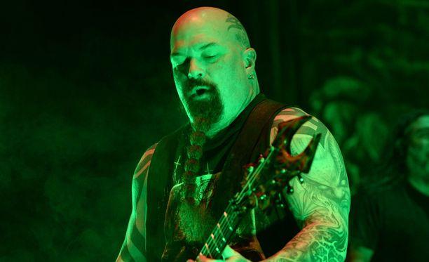 Kerry King on laulaja Tom Arayan ohella Slayerin ainoa jäljellä oleva perustajajäsen.