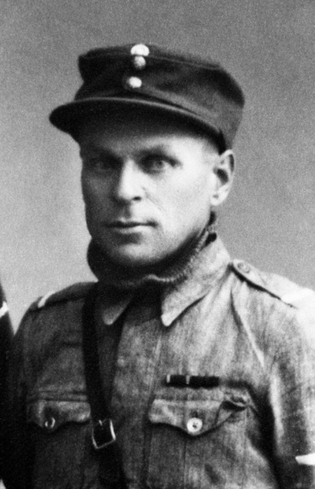 Arvid Janhunen oli yksi urheimmista suomalaissotilaista.