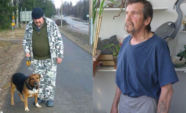 Ennen laihdutusta koiran kanssa lenkkeily otti koville. Nykyään Heikki kävelee useita kilometrejä viikossa ja auttaa päivittäin vaimoaan, joka tekee sivutoimisena talonmiehen töitä.