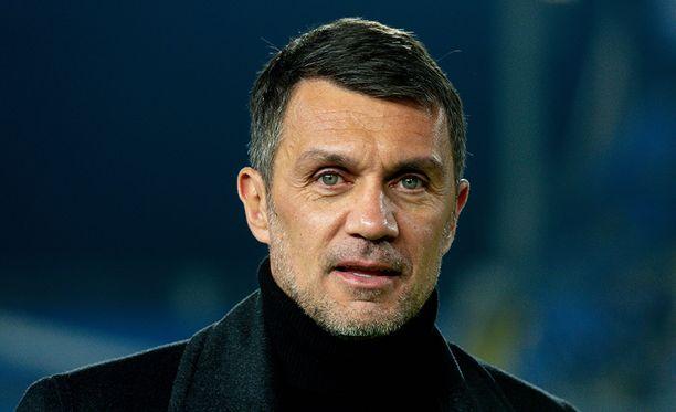 Paolo Maldini toimii AC Milanin teknisenä johtajana.