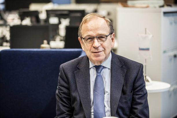 Erkki Liikanen ei halua SDP:n presidenttiehdokkaaksi.