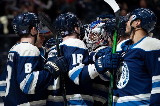 Joonas Korpisalo on saanut ykkösvahdin vastuun uransa viidennellä NHL-kaudellaan.
