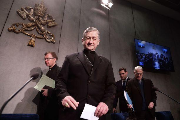 Kardinaali Blase Cupich toivoi tiedotustilaisuudessa, että huippukokouksesta tulisi käännekohta kirkon hyväksikäyttökriisiin.