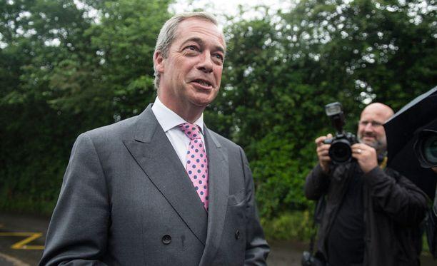 Nigel Faragen mukaan kriittisyys EU:ta kohtaan on kasvussa unioniin kuuluvissa maissa.