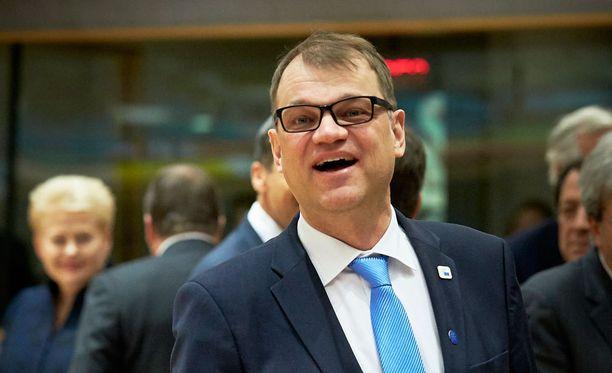 Juha Sipilä poltti hallituksen erokirjeen saunassa.