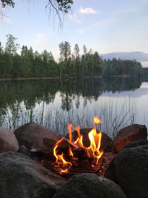 Luonnon rauha antaa keholle ja mielelle tilaa tuulettua.