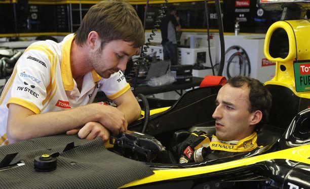 Robert Kubica ajoi viimeisimmällä F1-kaudellaan Renaultilla.